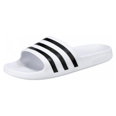 ADIDAS PERFORMANCE Buty na plażę/do kąpieli 'Adilette Aqua' biały / czarny