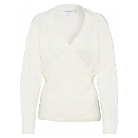 Missguided Sweter kremowy