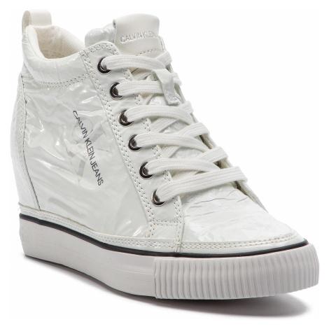 Sneakersy CALVIN KLEIN JEANS - Ritzy RE9850 White