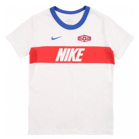 NIKE Koszulka funkcyjna czerwony / biały