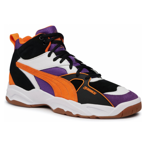Sneakersy PUMA - Performer Mid The Hundreds 371384 01 Puma Black/Persimmon Orange