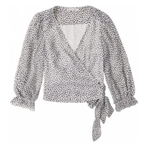 Abercrombie & Fitch Bluzka czarny / biały