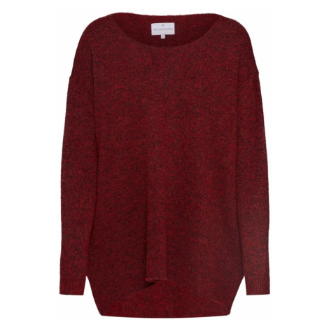 ROCKAMORA Sweter oversize 'Mille' czerwony