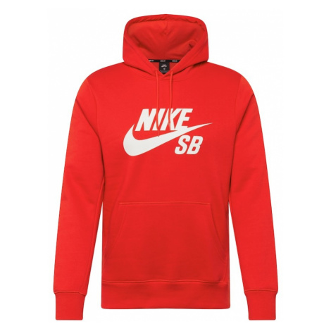 Nike SB Bluzka sportowa czerwony / biały