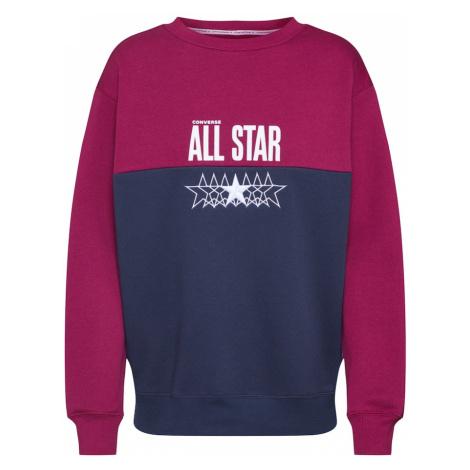 CONVERSE Bluzka sportowa 'All Star CrewBB' niebieski / czerwony
