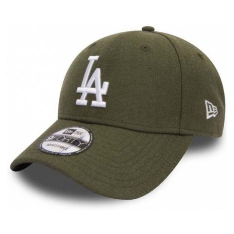 New Era 9FORTY MLB LOS ANGELES DODGERS ciemnozielony NS - Klubowa czapka z daszkiem