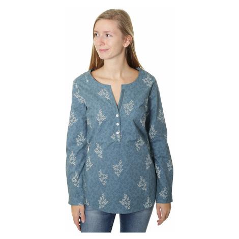 koszula Brakeburn Delicate Flower LS - Hydro Blue