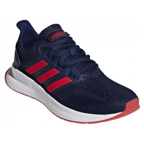 adidas RUNFALCON K ciemnoniebieski 4 - Obuwie do biegania dziecięce