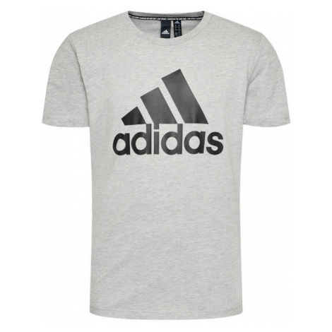 Adidas T-Shirt Must Haves Badge Of Sport DT9930 Szary Regular Fit