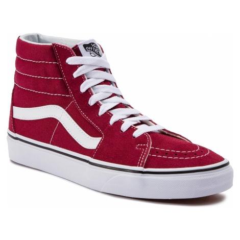 Sneakersy VANS - Sk8-Hi VN0A38GEVG41 Rumba Red/True White