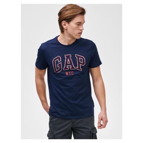 GAP niebieska koszulka męska Logo city arch tees