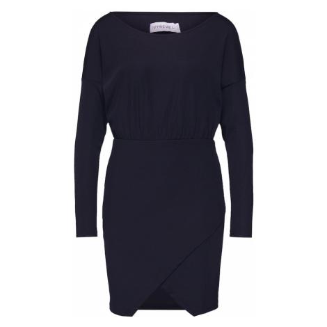IVYREVEL Sukienka 'RIB MINI DRESS' czarny