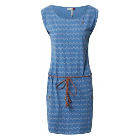 Ragwear Sukienka 'TAG ZIG ZAG' niebieski