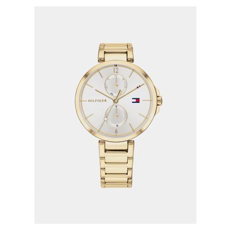 Women's watch with steel belt in gold Tommy Hilfiger