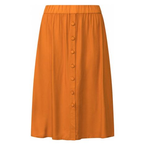 VILA Spódnica 'monnie' jasnobrązowy