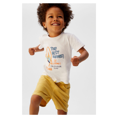 Mango Kids - T-shirt dziecięcy Surf 80-104 cm