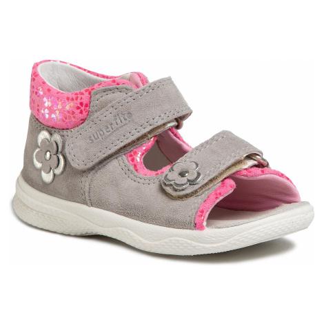 Sandały SUPERFIT - 6-00095-25 S Hellgrau/Rosa
