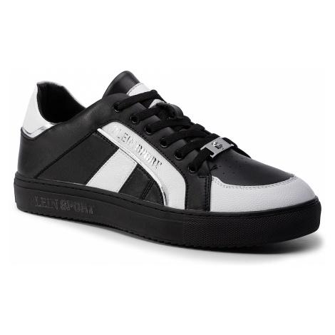 Sneakersy PLEIN SPORT - Lo-Top Sneakers Cross Tiger 19S MSC2246 STE003N Black/White 0201