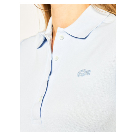 Lacoste Polo PF5462 Niebieski Slim Fit