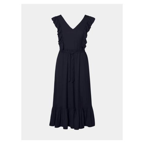Vero Moda granatowa sukienka Odette