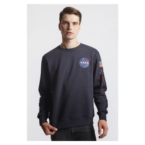 Bluza Alpha Industries Space Shuttle Sweater 07 Rep. Blue