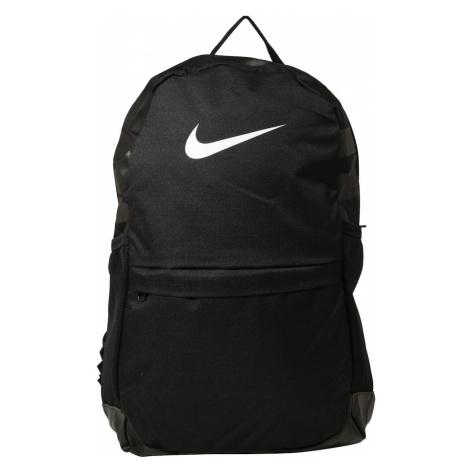 NIKE Plecak sportowy 'Nike Brasilia Backpack' czarny / biały