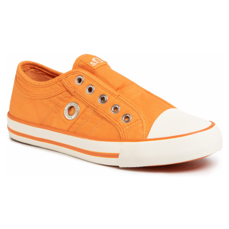 Trampki S.OLIVER - 5-24635-24 Orange 606