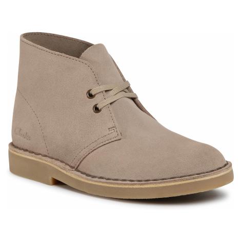 Botki CLARKS - Desert Boot 2 261556604 Sand Suede