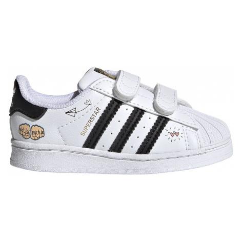 Adidas Superstar CF I Dziecięce Białe (FZ0619)