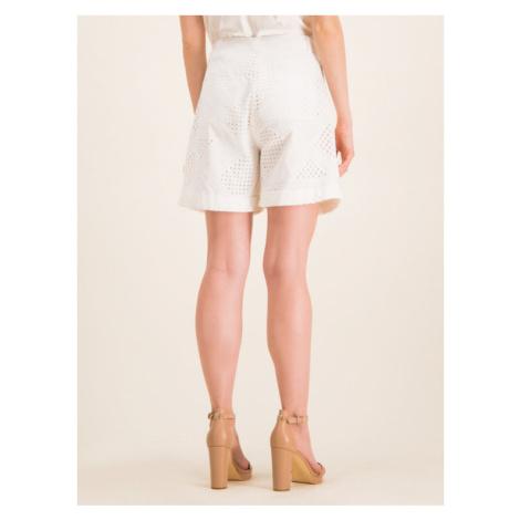 Pennyblack Szorty materiałowe 31415019 Biały Regular Fit