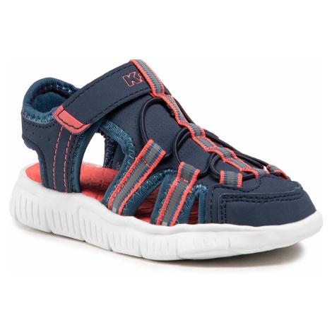 Sandały KAPPA - Kyoko K 260884K Navy/Orange 6744