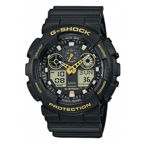 Zegarek G-SHOCK - GA-100GBX-1A9ER Black/Black Casio