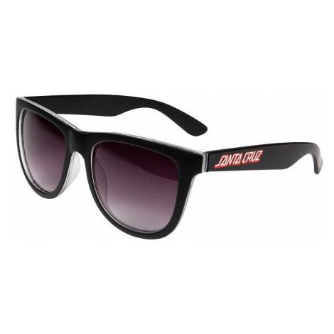 okulary Santa Cruz Check Strip - Black