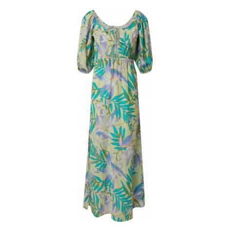 BILLABONG Letnia sukienka 'todays wish' żółty / zielony / niebieski