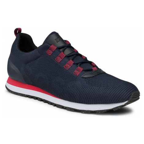 Sneakersy BOSS - Parkour 50446019 10232616 01 Dark Blue 401 Hugo Boss