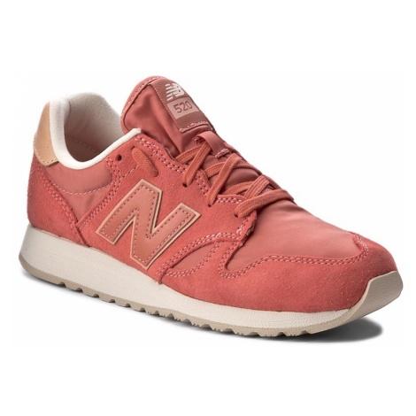 Sneakersy NEW BALANCE - WL520BC Różowy