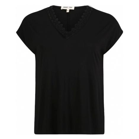 ABOUT YOU Curvy Koszulka 'Kate' czarny