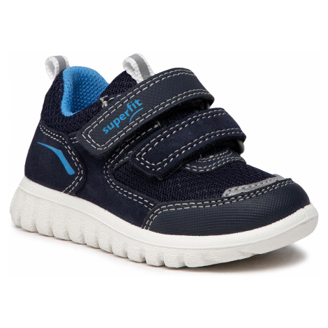 Sneakersy SUPERFIT - 1-006194-8000 M Blau/Blau