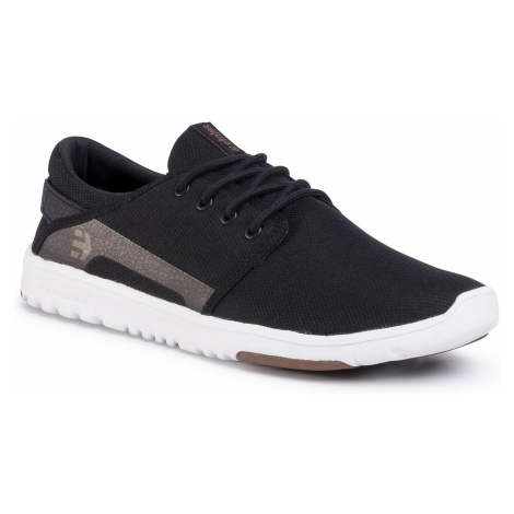 Sneakersy ETNIES - Scout 4101000419 Black/White/Gum 979