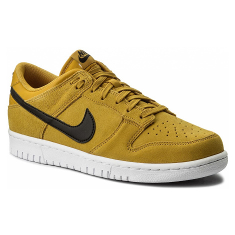 Buty NIKE - Dunk Low 904234 700 Mineral Yellow/Black/White