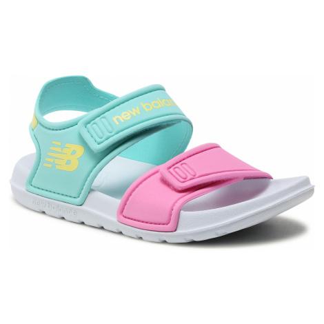 Sandały NEW BALANCE - YOSPSDCY Kolorowy Niebieski