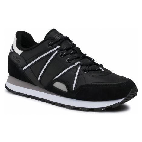 Sneakersy BOSS - Parkour 50452032 10235031 01 Black 001 Hugo Boss