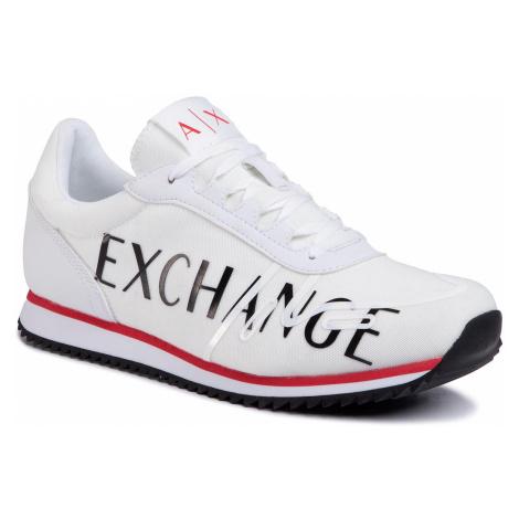 Sneakersy ARMANI EXCHANGE - XUX062 XV222 00152 Opt White