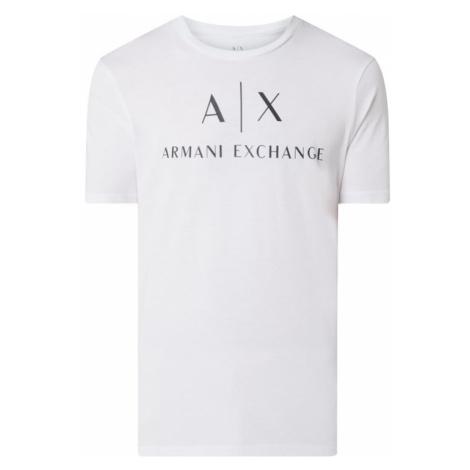 T-shirt z nadrukiem z logo Armani