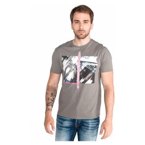 Armani Exchange Koszulka Szary