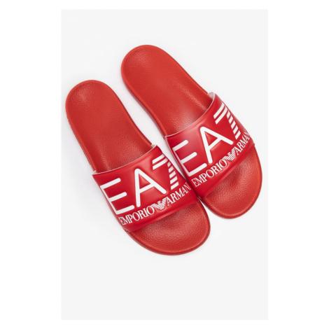 Klapki Ea7 Emporio Armani Visibility S Xcp001Xcc22-00029 Red