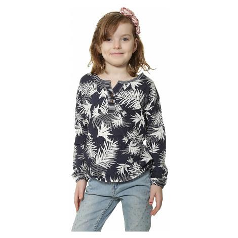 koszulka Roxy Warmin UP LS Kid's - BTN6/Indo Floral Peacoat
