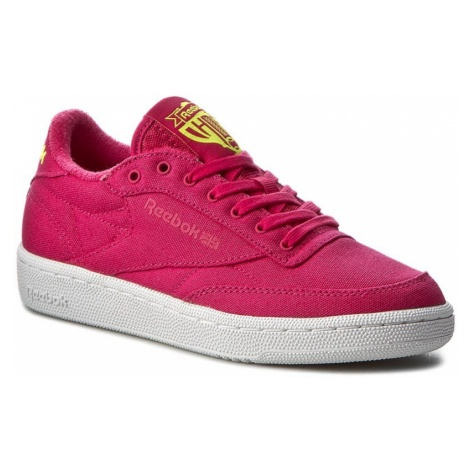 Buty Reebok - Club C 85 Eh BD2008 Pink Craze/Yellow/White