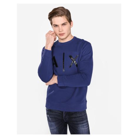 Armani Exchange Bluza Niebieski