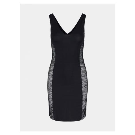 Czarna modelująca sukienka Pieces Ella